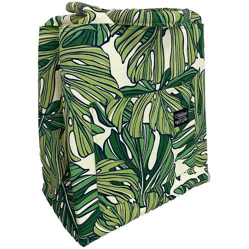 Aloha Monstera Manapua Bag