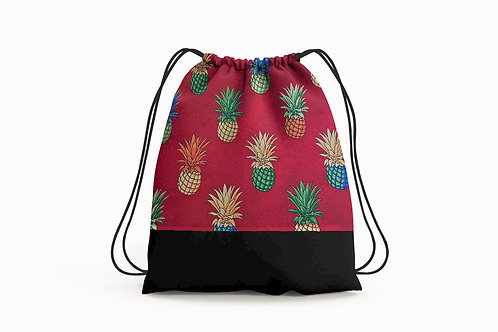 Fresh Pineapples Cinch Backpack