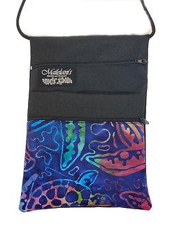 Rainbow Honu Batik String Bag