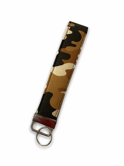 Camoflauge Holoholo Key Wristlet