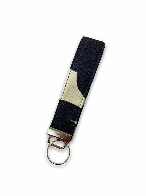 Tiare Blue Key Holoholo Wristlet