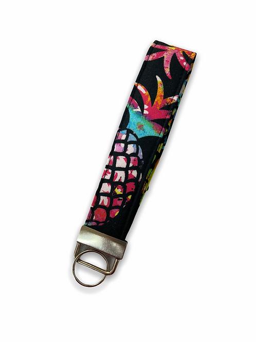 Happy Pineapple Holoholo Key Wristlet