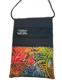 Ocean Rain Batik String Bag
