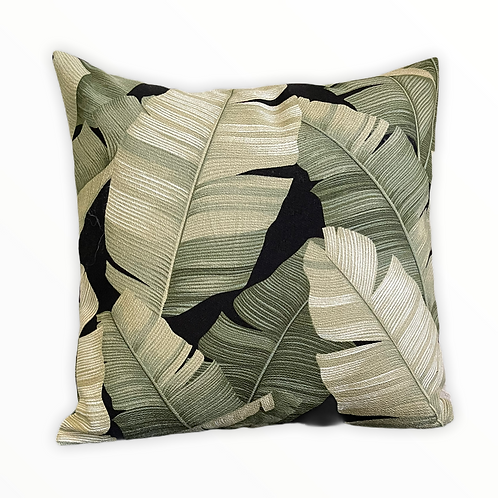 Banana Leaf Pillow Cover