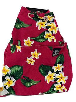 Plumeria in Fuchsia Backpack