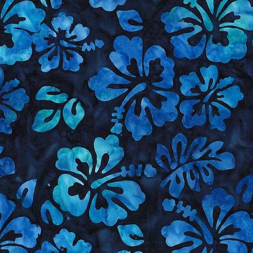 Hibiscus Batik Fabric