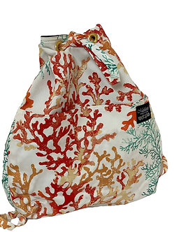 Coral Grove in Salmon Backpack