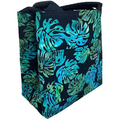 Monstera Batik Manapua Bag