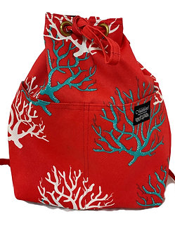 Salmon Coral Reef Backpack
