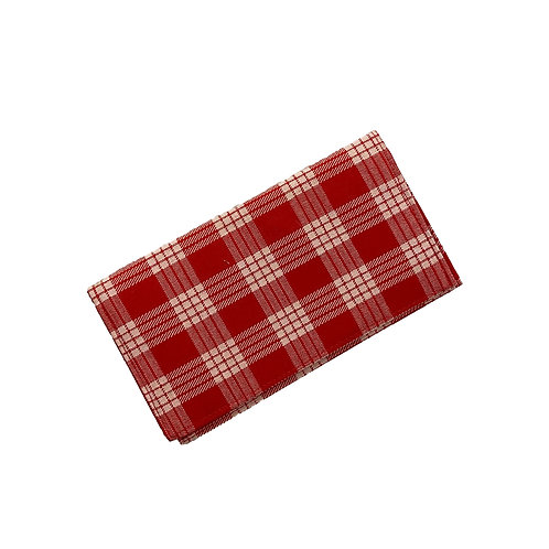 Red Palaka Checkbook Cover