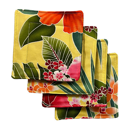 Hamakua Set of 4 Coasters