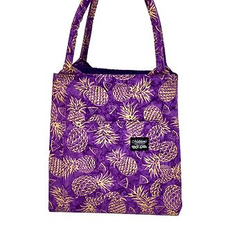 Golden Pineapples in Purple Manapua