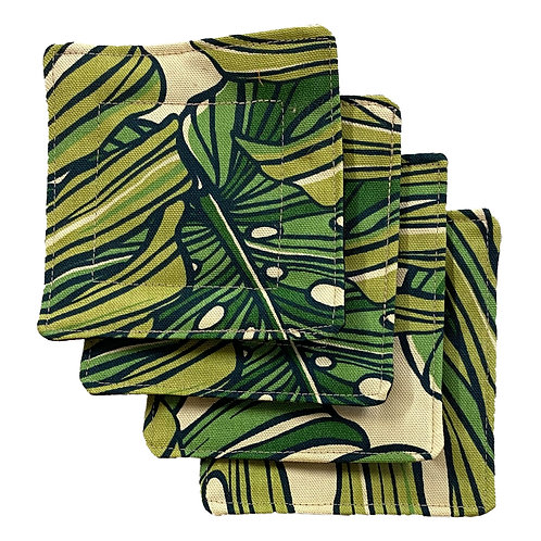 Monstera Set of 4 Coasters