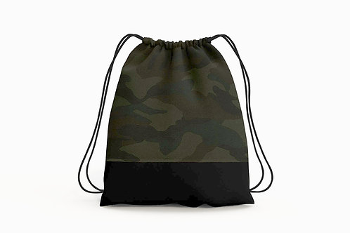 Camouflage Cinch Backpack