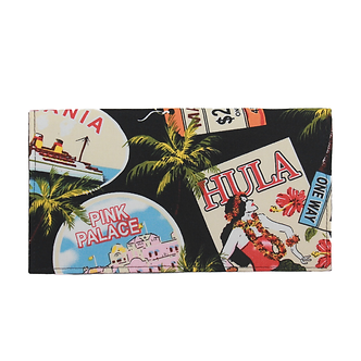 Waikiki Hula Checkbook