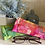 Thumbnail: copy of Pineapple Batik Eyeglass Case