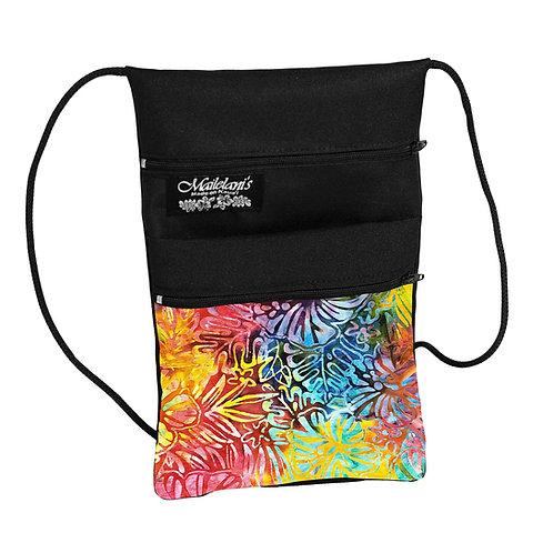 Hibiscus Batik String Bag