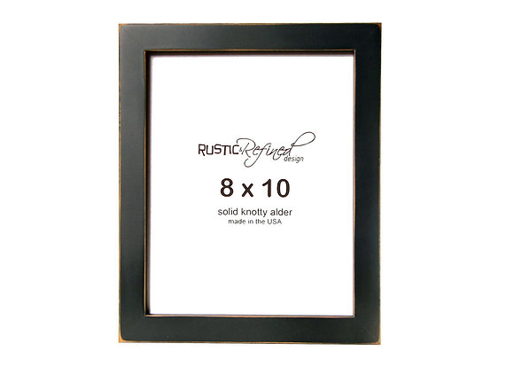 "8x10 1"" Gallery Picture Frame - Black"