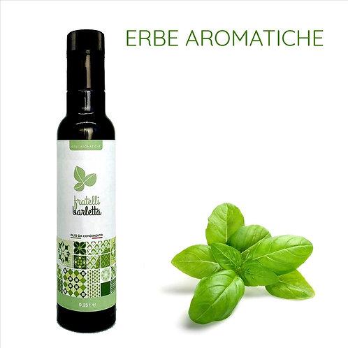 12 bottiglie da 0,25 litri di olio da condimento alle erbe aromatiche