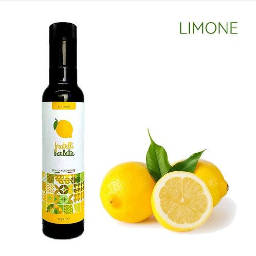 12 bottiglie da 0,25 litri di olio da condimento al limone