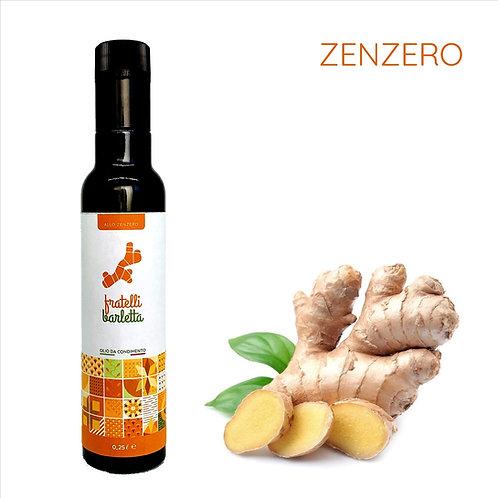12 bottiglie da 0,25 Litri di olio da condimento allo Zenzero