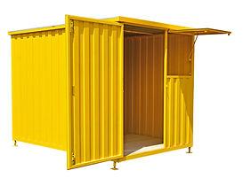 Locação de Container  é aqui: container desmontável ou container escritório. Aluguel de Container é na www.ccsuzano.com.br