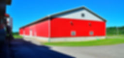 Maple Meadows barn foundation