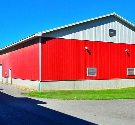 Finished barn
