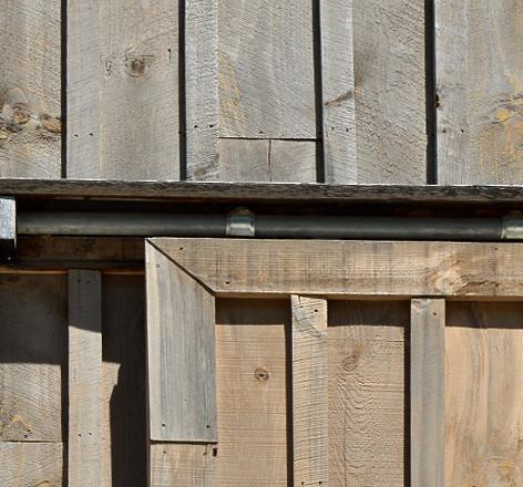 Shed door detail