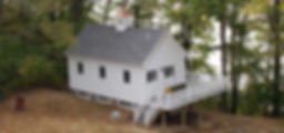 Custom built Shoreham VT lake house