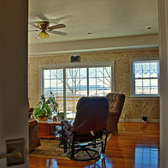 Living room, looking from entry