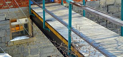 Suspended Walkway construction