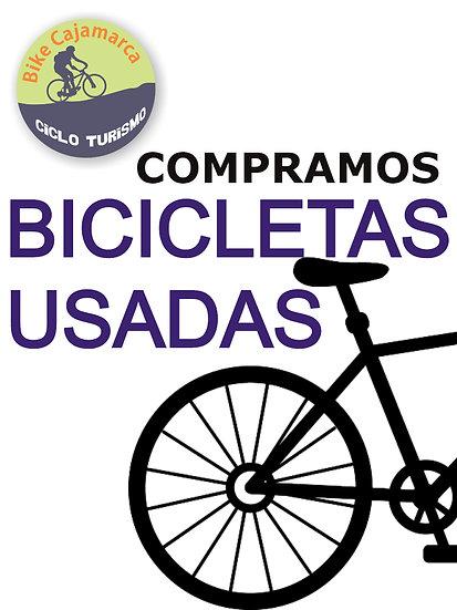 COMPRAMOS BICICLETAS USADAS
