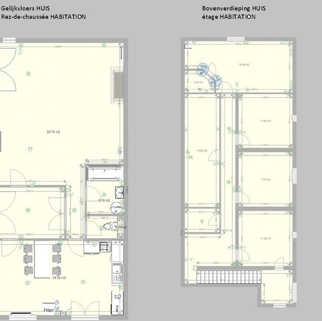 Plannen vakantiehuis zonder garages