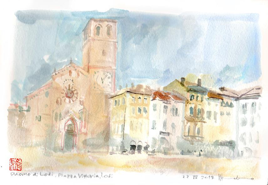 Piazza Vittoria, Lodi Italy