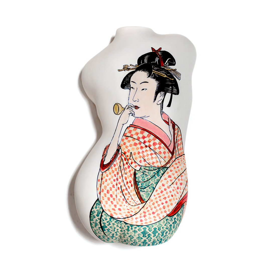 #utamaro #ceramic #twist #back