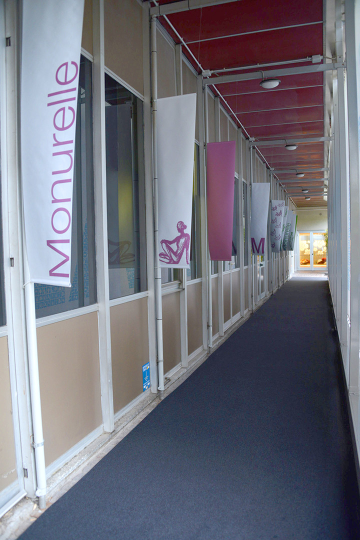 Out side of Exhibition landscape