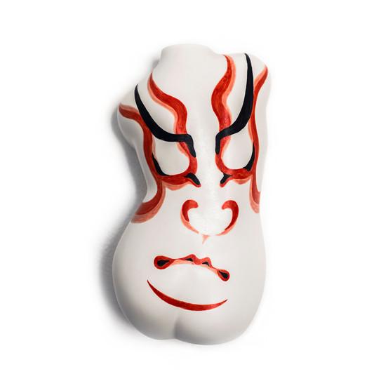 #Kumadori #Kabuki #twist #back
