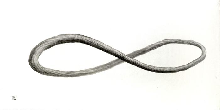 #NeutralMatter #GlowMatter #LongEndlessLoop Pencil on paper 1200 x 600mm