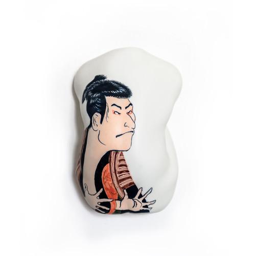 Ukiyoe Sharaku Ceramic