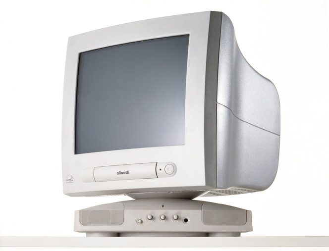 Olivetti monitor-multi media Italy