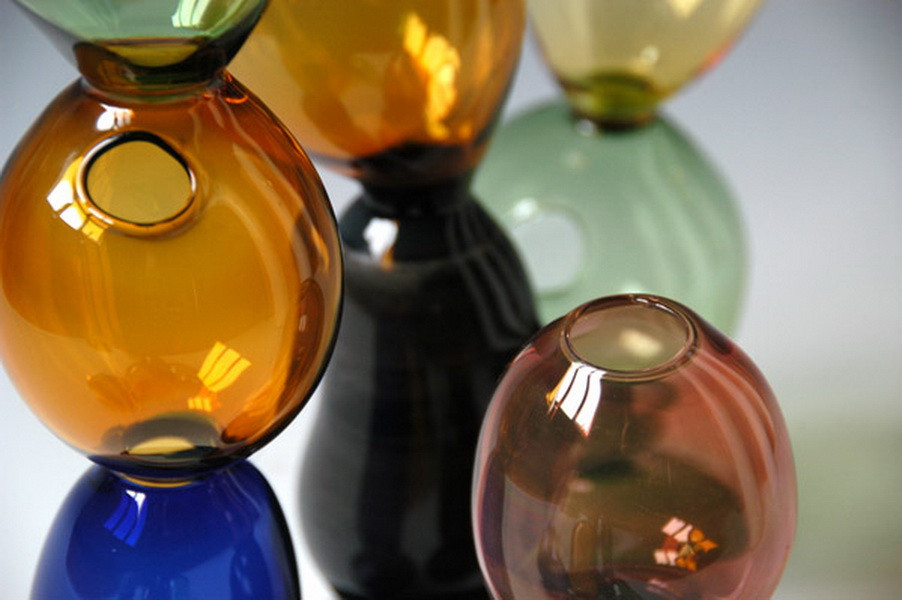 Glass bolle-detail