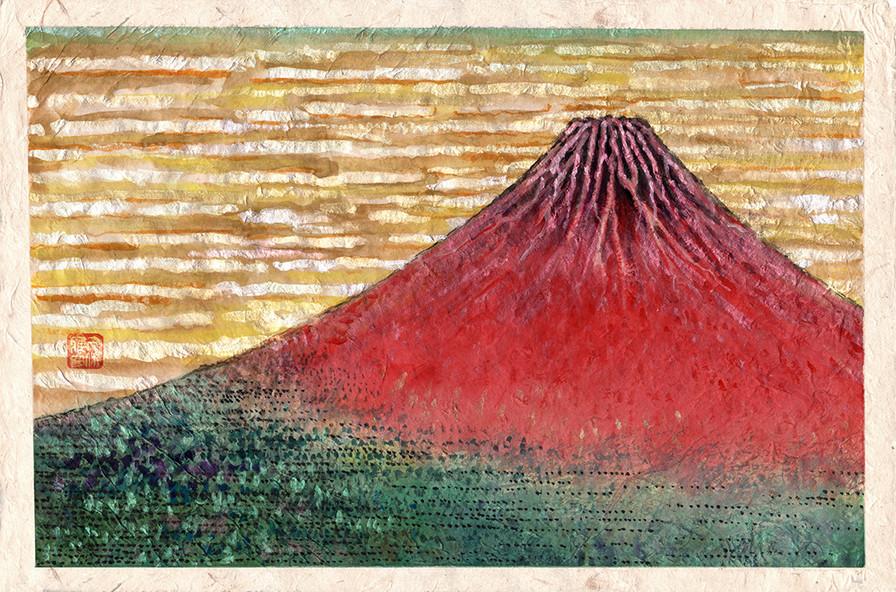 Akafuji - Red Mt.Fuji