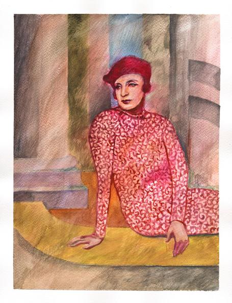 Portrait of Tamara de Lempicka