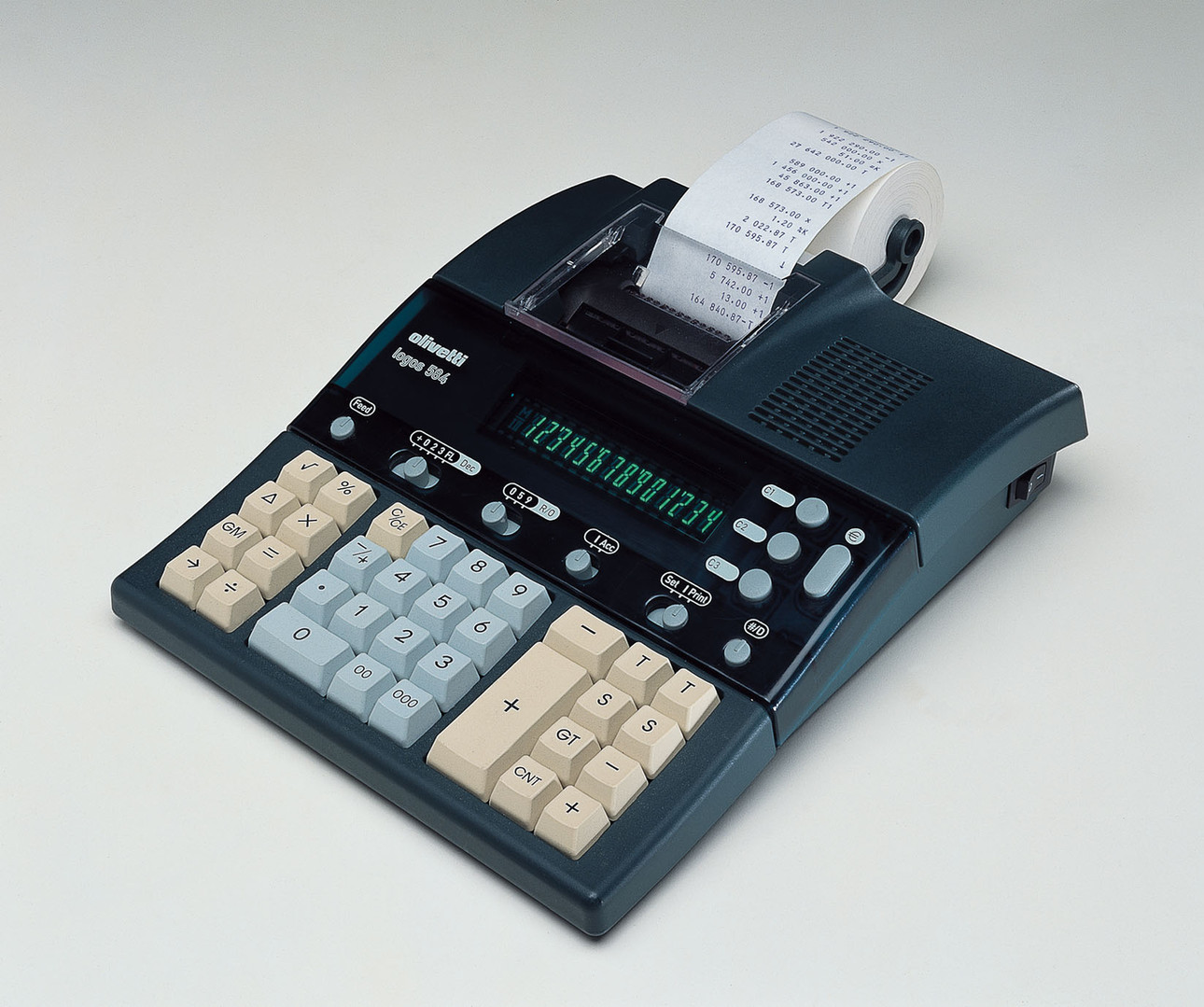 Olivtti calculator log584dx Italia