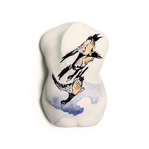Ukiyoe - Tsuki ni kari Ceramic