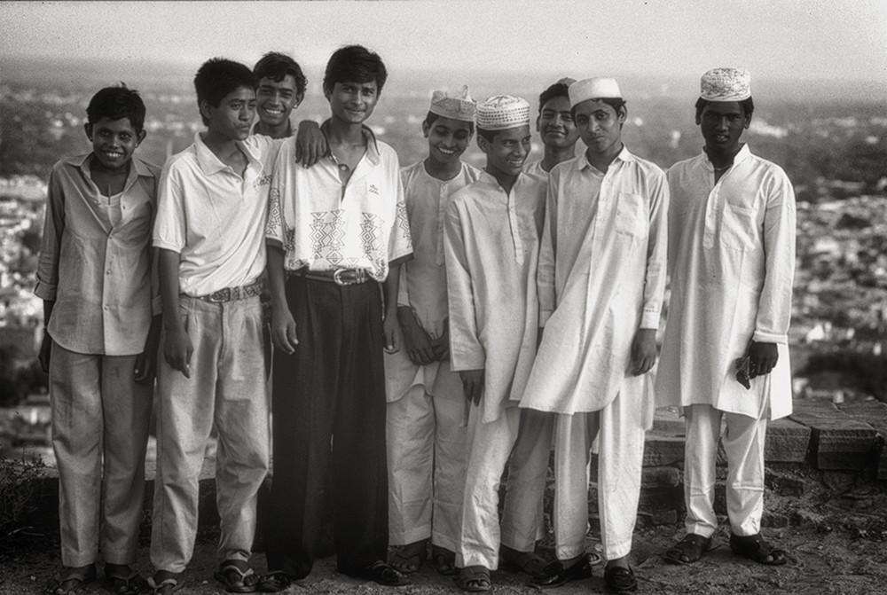 Portrait photo in India
