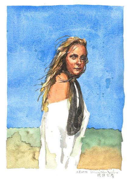Portrait of Elisa