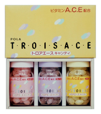 "Pola Cosmetics Candy ""Troisace"", Japan"