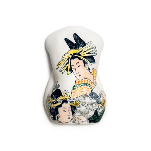 Ukiyoe Oiran Ceramic